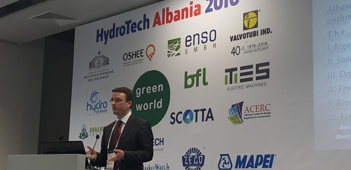 3rd HydroTech Albania Conference and Exhibition, Tirana, Organise by Green World Conferences, on 22-23 February 2017 in Tirana International Hotel, Tirana, Albania