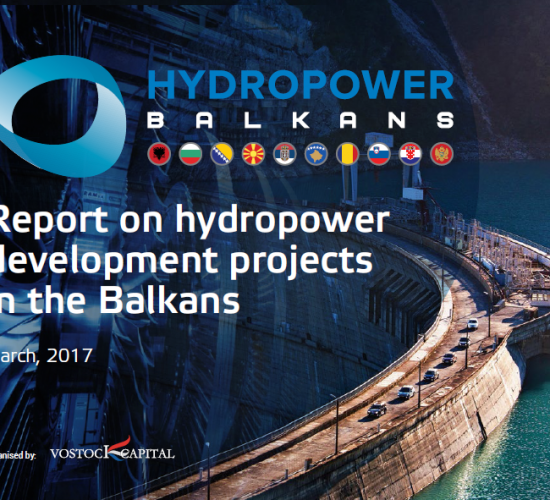 Report on hydropower development projects in the Balkans, Vostock Capital, 19 April 2017