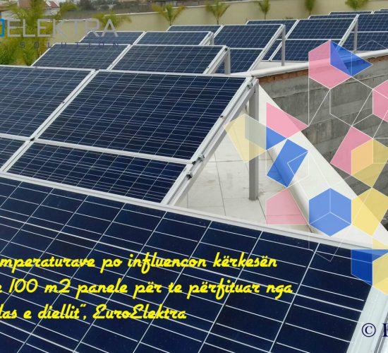 """EuroElektra, çdo jave me 100 m2 panele për te përfituar nga energjia falas e diellit"""", Ecs Adriatic, 24 Prill 2017"""