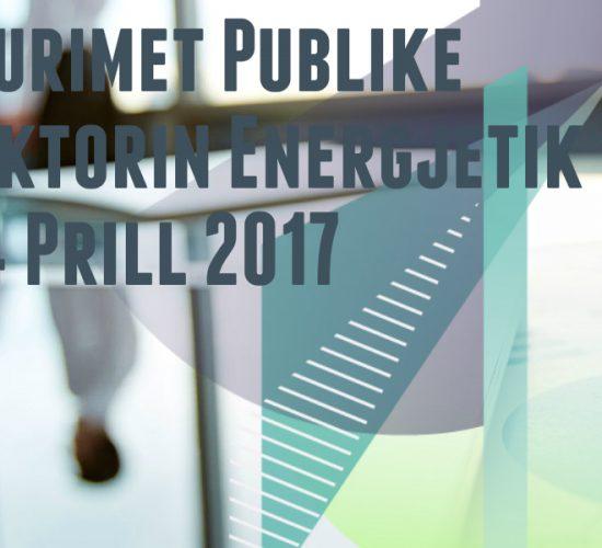 Prokurimet Publike ne Sektorin Energjetikë me 24 Prill 2017