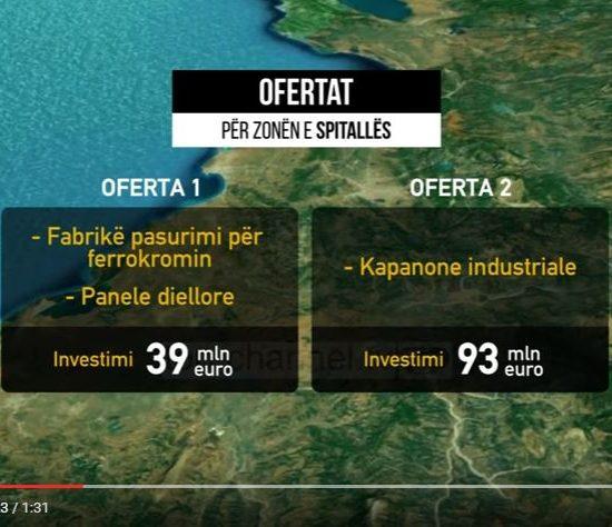Spitalla zonë e lirë, ofrohen dy kompani shqiptare, Top Channel, 04 Maj 2017