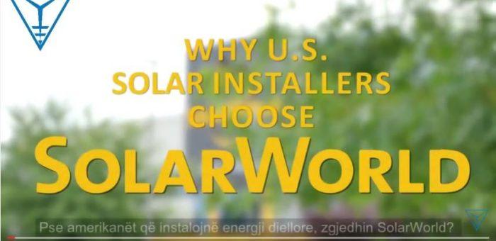 Pse të gjithë zgjedhin SolarWorld? Ka më shumë se një arsye! EuroElektra, 08 Maj 2017