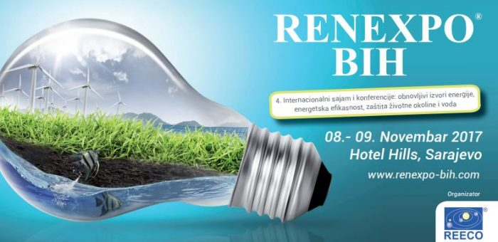 RENEXPO® BiH: The biggest trade fair with conferences about renewable energy in Sarajevo