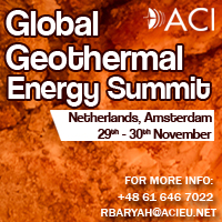 Global Geothermal Energy Summit 2017 by ACI, on 29-30 November, Netherlands