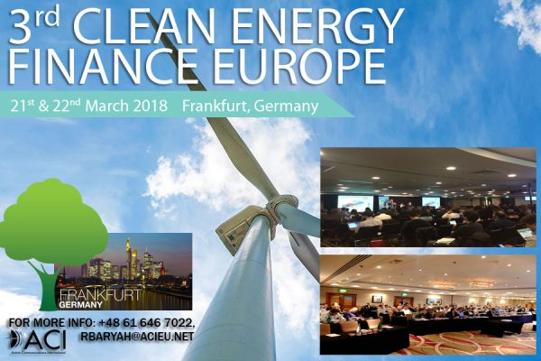 clean energy finance europe clean energy finance clean energy march 9 2018 energy finance europe