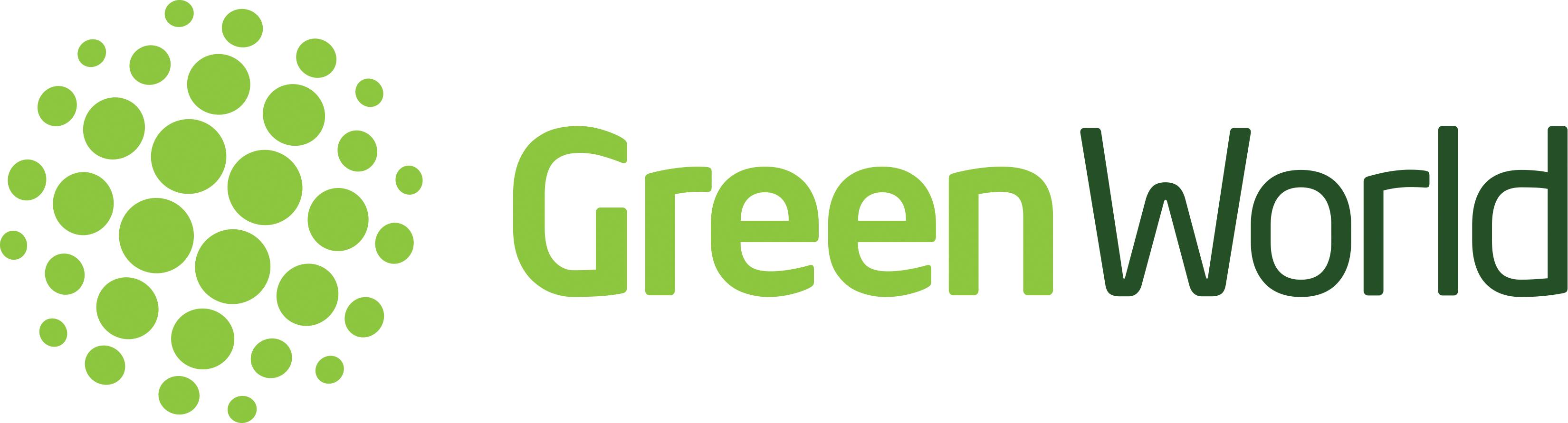 Green world logo stock vector. Illustration of abstract ... |Green World Logo