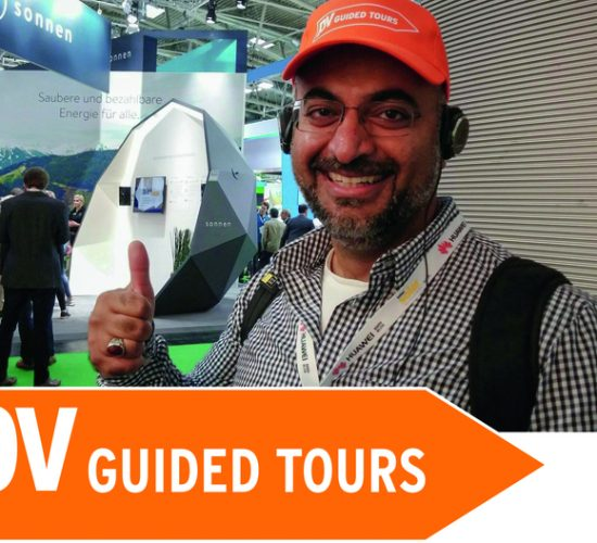 The smarter E Europe 2018: Guided Tours for Professionals – pv Guided Tours