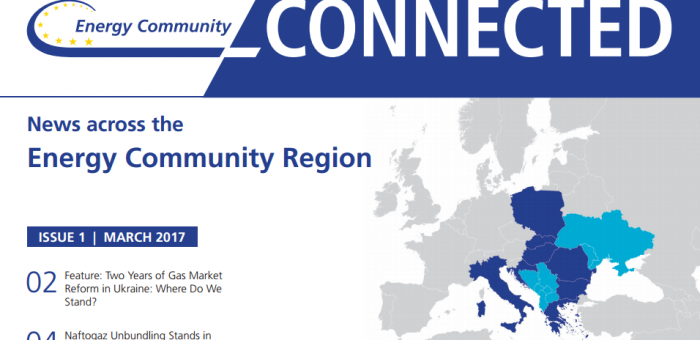 ECS publishes first issue of Energy Community Connected – News across the Energy Community Region, ECS, 16th March 2017
