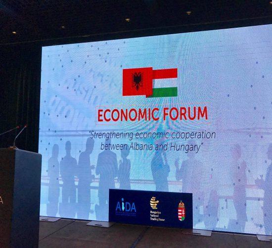 Zhvillohet ne Tirane Forumi Ekonomik Shqipëri-Hungari, Aida, 10 Prill 2017