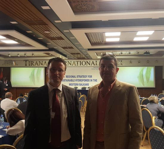 Regional Strategy for Sustainable Hydropower in the WBs by Dr Lorenc Gordani, 18th July 2017