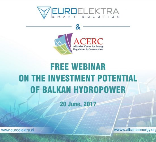 Granting rights in hydroelectric in the Western Balkans by Dr Lorenc Gordani, 16th July 2017