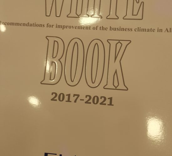 Foreign Investors Association of Albania Official Launch the White Book Albania 2017-2021