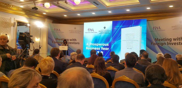 FIAA propozime për qeverinë, Pedrazzi: Klima e qëndrueshme sjell investime dhe vende pune të reja