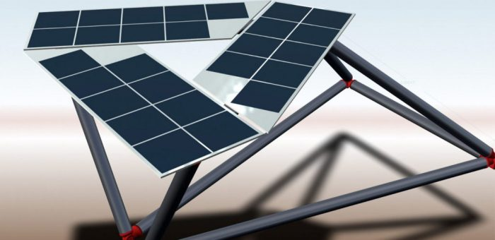 New ultra-light solar module: OPES Solutions reduces module weight by two thirds