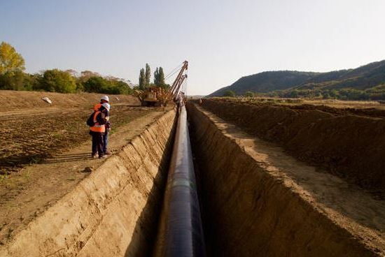 TAP pipes welded along 80% of route in Albania, Greece