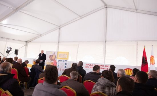SHELL, another major investment in the oil sector in Albania