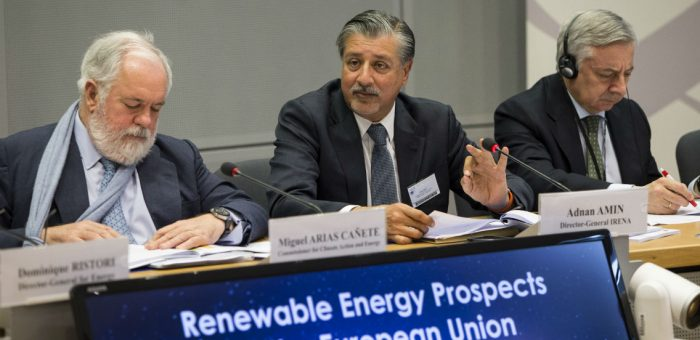 IRENA: EU can increase share of renewables to 34% by 2030